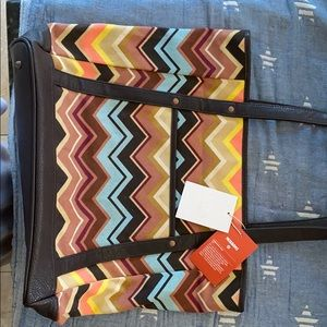 Missoni for Target special addition tote bag